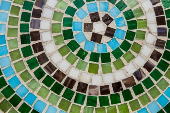 mosaik muster rund - Mosaik Muster