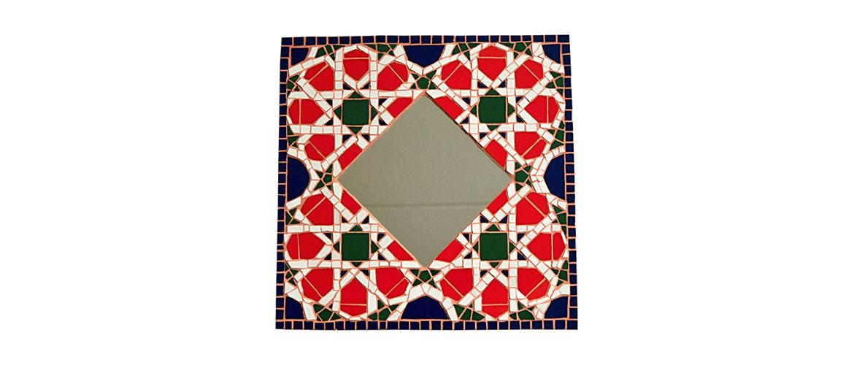 Mosaik Wandspiegel