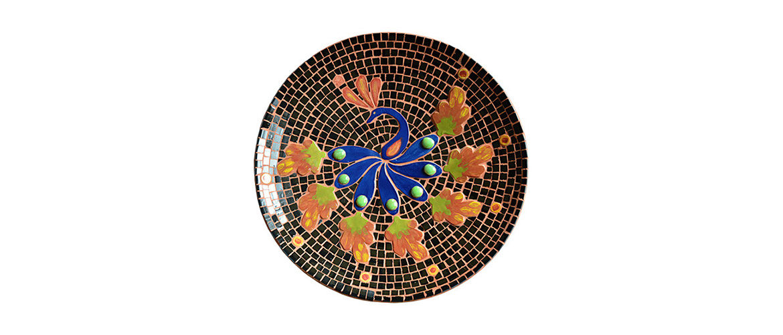 Mosaik Pfau